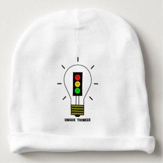 不機嫌な信号の電球のユニークな思想家 ベビービーニー