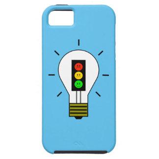 不機嫌な信号の電球 iPhone SE/5/5s ケース