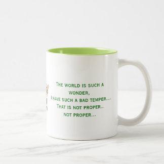 不機嫌の詩 ツートーンマグカップ