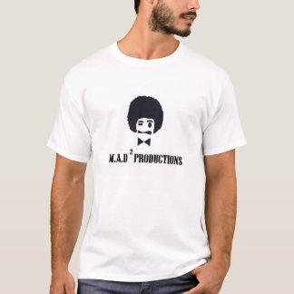 不機嫌はロゴとワイシャツを平方しました Tシャツ