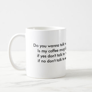 不機嫌は本格的なコーヒー・マグを平方しました コーヒーマグカップ