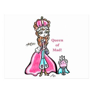不機嫌2の女王 ポストカード