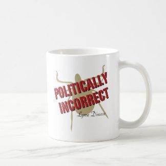 不正確なライム病-行政上 コーヒーマグカップ