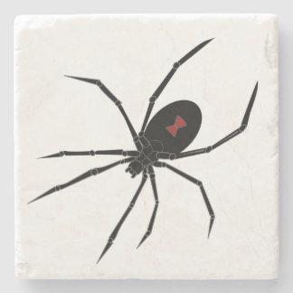 不気味なクロゴケグモのくも ストーンコースター