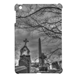 不気味な墓地 iPad MINI カバー