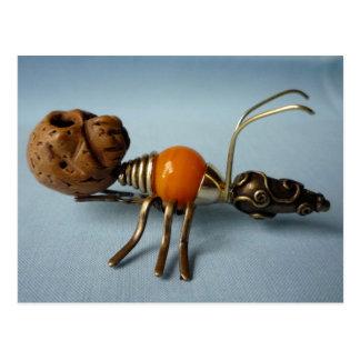 不気味な蟻 ポストカード