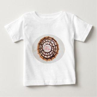 不況を治す方法(パイを焼き、食べて下さい) ベビーTシャツ