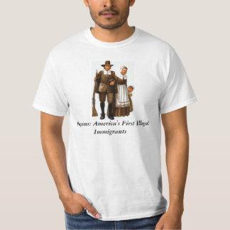 不法入国者 Tシャツ