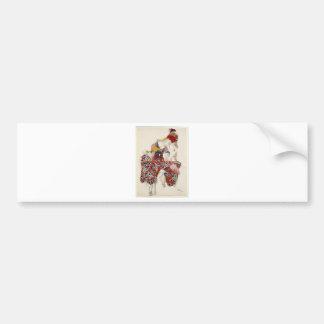 不滅-ダンスの花 バンパーステッカー