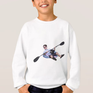 不潔で率直なカヤック スウェットシャツ