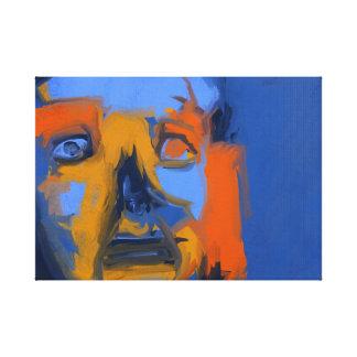 不眠症 - 現代的 デジタル 芸術 キャンバス 18x24