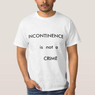"""""""不節制のTシャツは罪ではないです。"""" Tシャツ"""