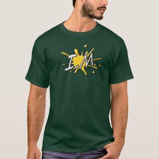 不節制人のロゴのティー Tシャツ