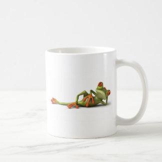 不精なカエル コーヒーマグカップ