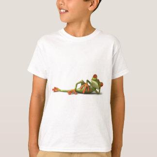 不精なカエル Tシャツ