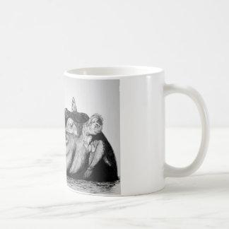 不精なカバ コーヒーマグカップ