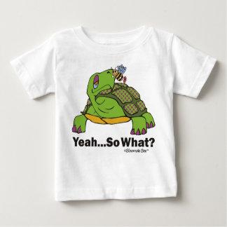 不精なカメのTシャツ ベビーTシャツ