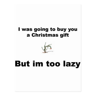 不精なクリスマス ポストカード
