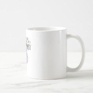 不精なデイジー コーヒーマグカップ