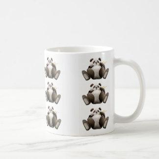 不精なパンダのマグ コーヒーマグカップ
