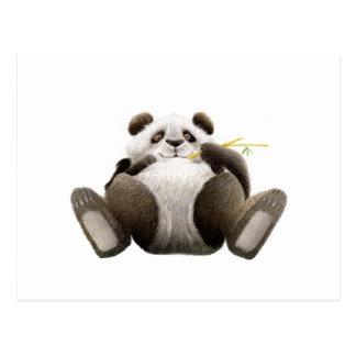 不精なパンダの郵便はがき ポストカード