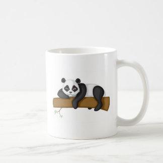 不精なパンダ コーヒーマグカップ