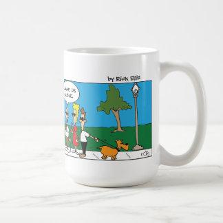不精なパントマイム コーヒーマグカップ