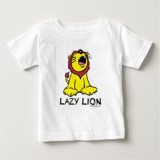 不精なライオンのワイシャツ ベビーTシャツ