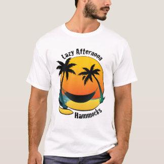 不精な午後-ハンモックのテスター Tシャツ