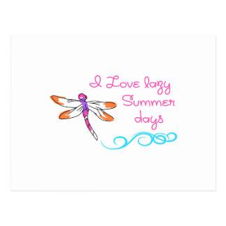 不精な夏の日 ポストカード