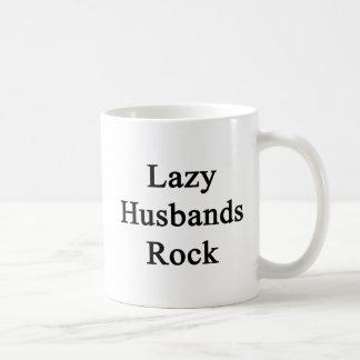 不精な夫の石 コーヒーマグカップ