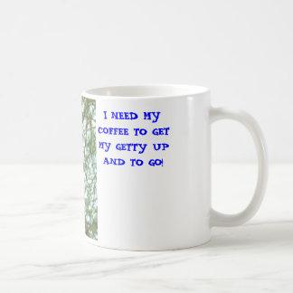 不精な子猫、私は私のコーヒーが…私のGETTYを得ることを必要とします コーヒーマグカップ