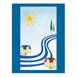 不精な川の上 ポストカード
