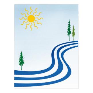不精な川 ポストカード