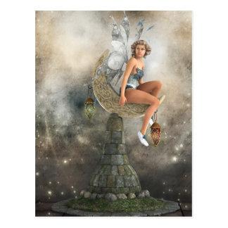 不精な月の妖精 ポストカード