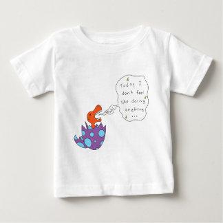 不精な歌ディーノ ベビーTシャツ