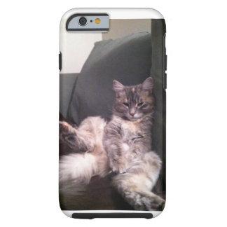 不精な猫のiPhoneの場合 ケース