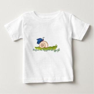 不精な蝶デザイン ベビーTシャツ