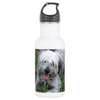 不精な雑種犬 ウォーターボトル