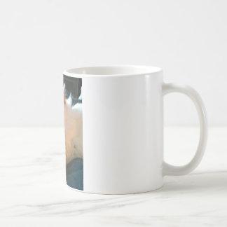 不精な、リラックスした猫 コーヒーマグカップ