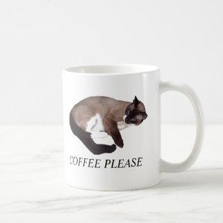 不精なCAT コーヒーマグカップ