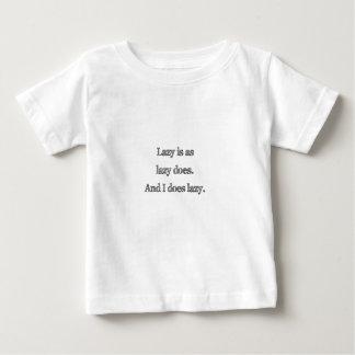 不精ように不精あります ベビーTシャツ