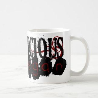 不道徳なビーガン コーヒーマグカップ