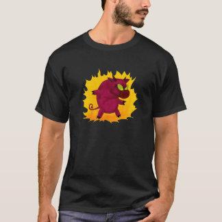 不道徳なブタ! Tシャツ