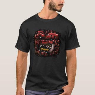 不道徳なモンスター-赤 Tシャツ