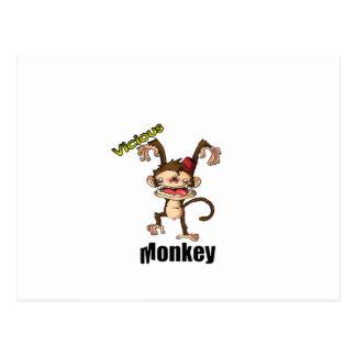 不道徳な猿 ポストカード
