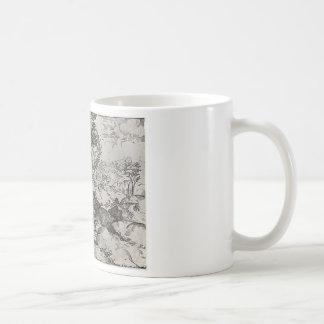 不道徳な雑草の喩え コーヒーマグカップ