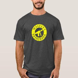 不適当な物のペイントボール Tシャツ