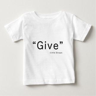 与えて下さい-小さい流れのモルモンの第一次賛美歌を言いました ベビーTシャツ