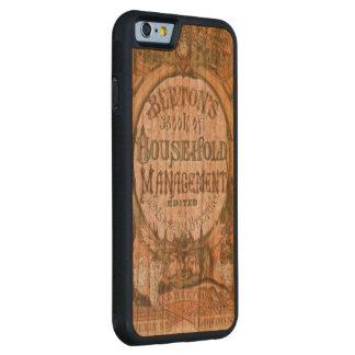 世帯ManagemetのBeetons Book夫人 CarvedチェリーiPhone 6バンパーケース